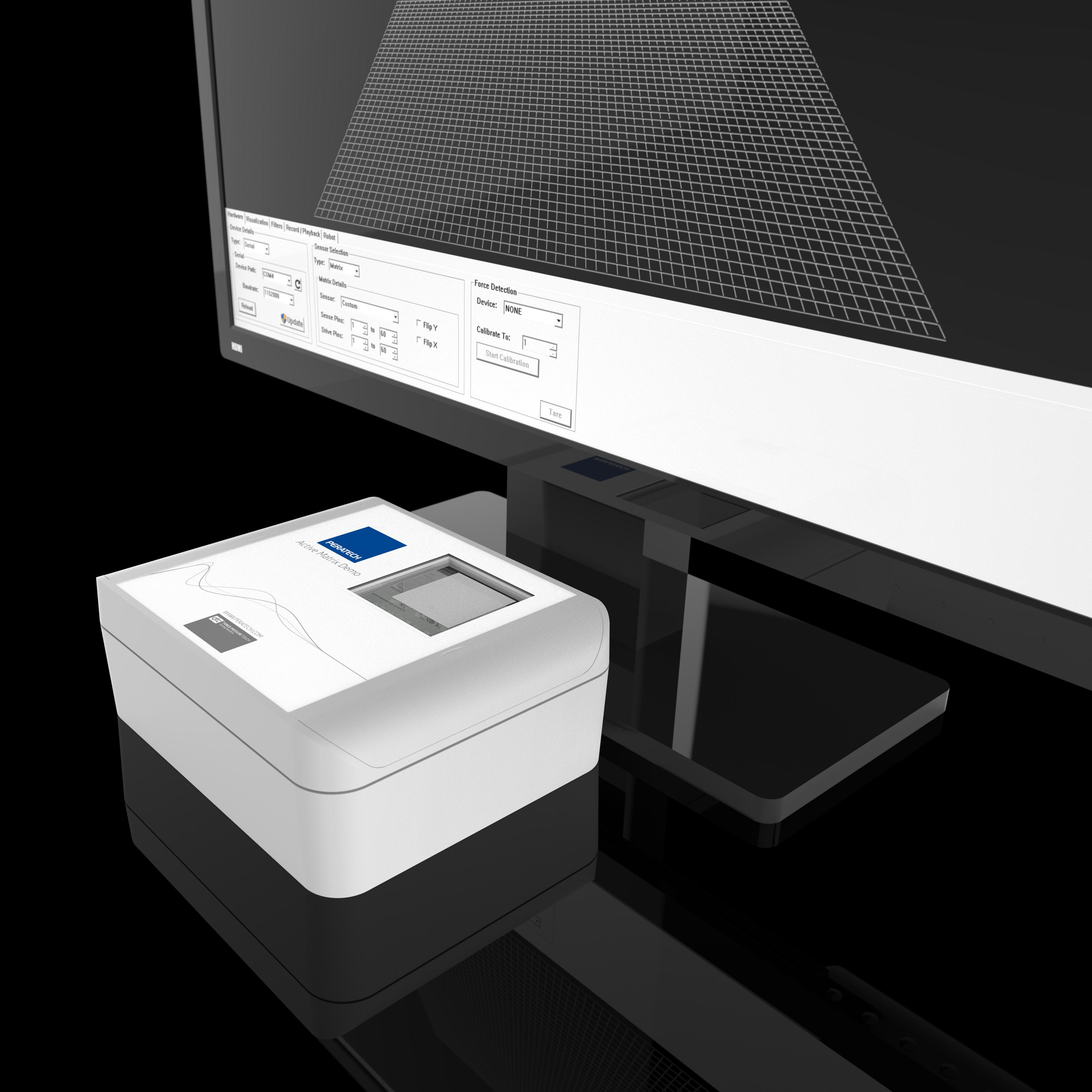 Peratech - Active matrix sensor based on TFT display